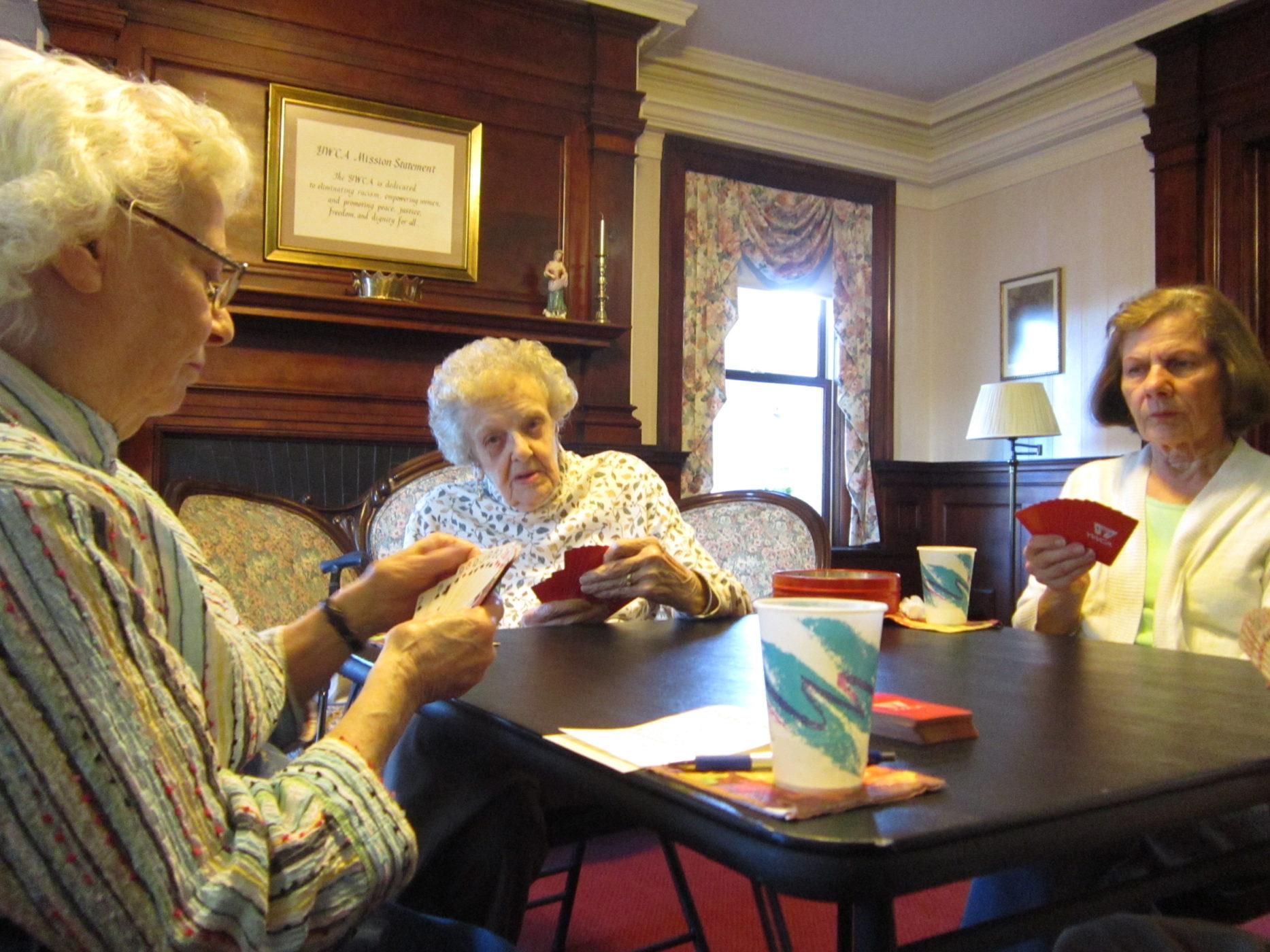Women Playing Cards (Bridge)