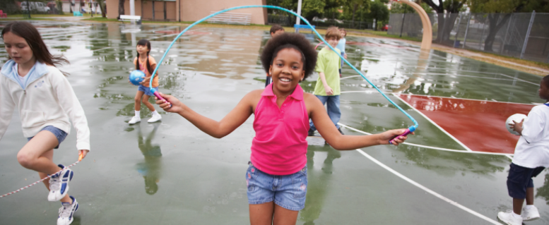 Children Jump Roping